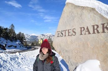 Estes Park entrance